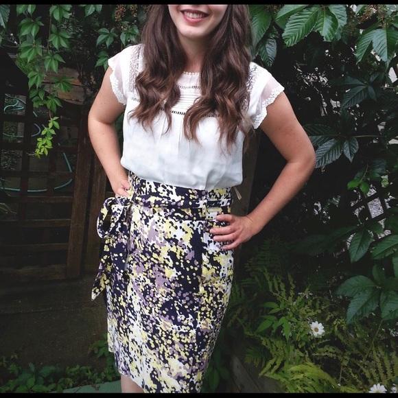 Fenn Wright Manson Dresses & Skirts - Linen pencil high waisted skirt